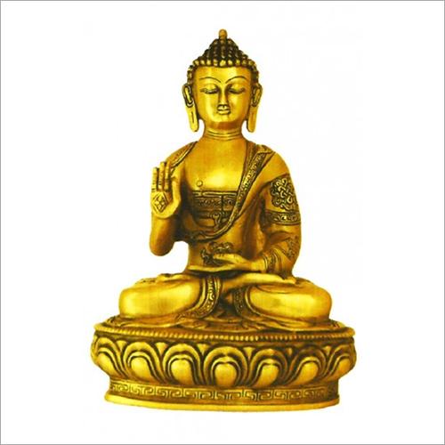 Brass Lord Buddha Statue