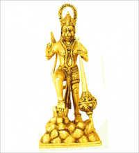 Brass Lord Hanuman Statue