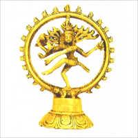 Brass Lord Dancing Nataraja Statue