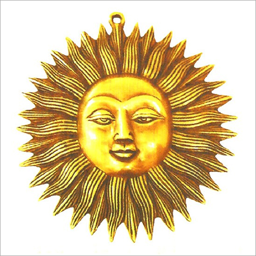Wall Hangings Brass Sun