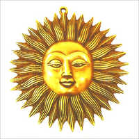 Wall Hangings Brass Sun