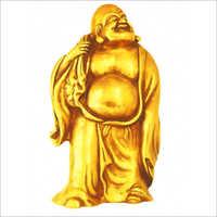Brass Feng Shui Laughing Buddha Statue