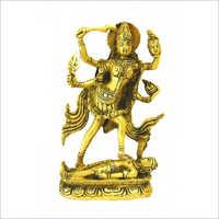 Brass Goddess Kali Statue