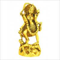 Brass Goddess Rudra Kali Statue