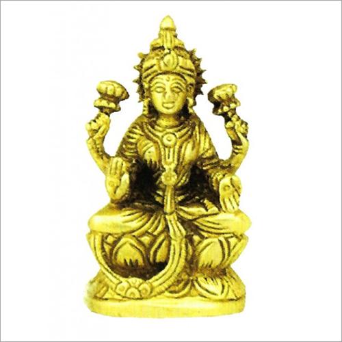 Brass Lord Laxmi Statue