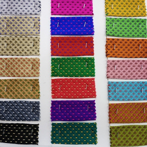 Brocade Fabric- Keshar