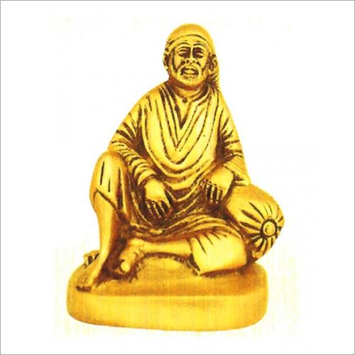Brass Sai Baba Statue
