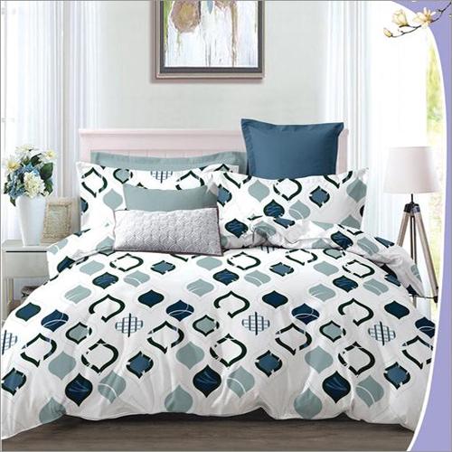 Heavy 3D Poly Cotton Designer Bed sheet