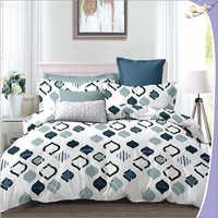 Heavy 3D Poly Cotton Designer Bed sheet