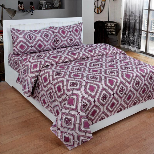 Heavy 3D Poly Cotton Trendy Bedsheet