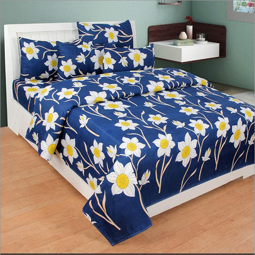 Heavy 3D Print Poly Cotton Bed sheet