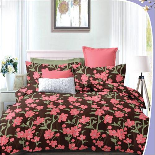 Heavy 3D Floral Print Poly Cotton Bedsheet
