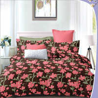 Heavy 3D Floral Print Poly Cotton Bedsheet