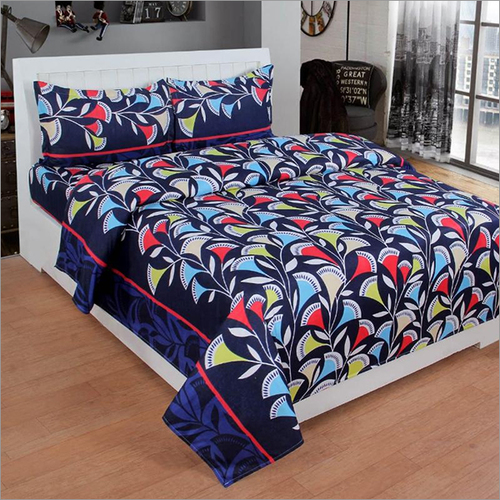 Heavy 3D Print Poly Cotton Bedsheet