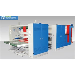 Dual Pass Pre-shrinking Machine with Steam-Electricity-Thermal Oil Heat