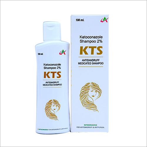 100 ml Ketoconazole Antidandruff Medicated Shampoo