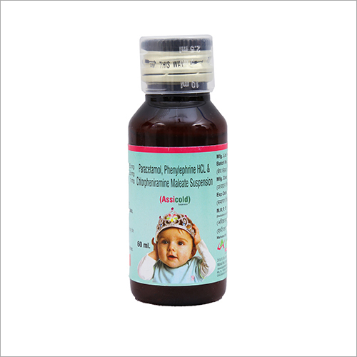 Paracetamol Phenylephrine HCL And Chlorpheniramine Maleate Suspension