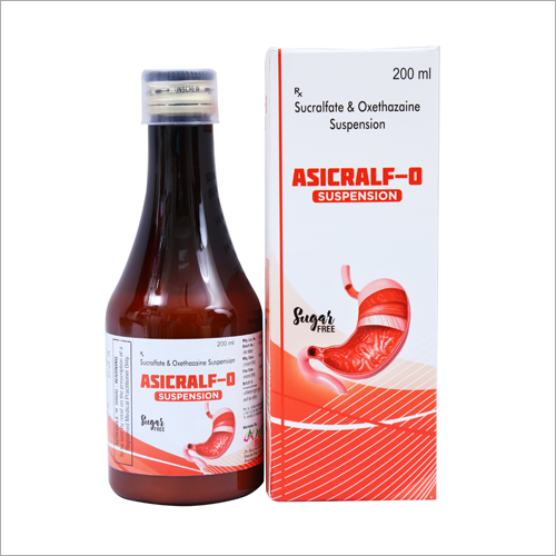 200 ml Sucralfate And Oxethazaine Suspension