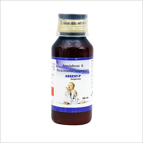 60 ml Aceclofenac And Paracetamol Suspension