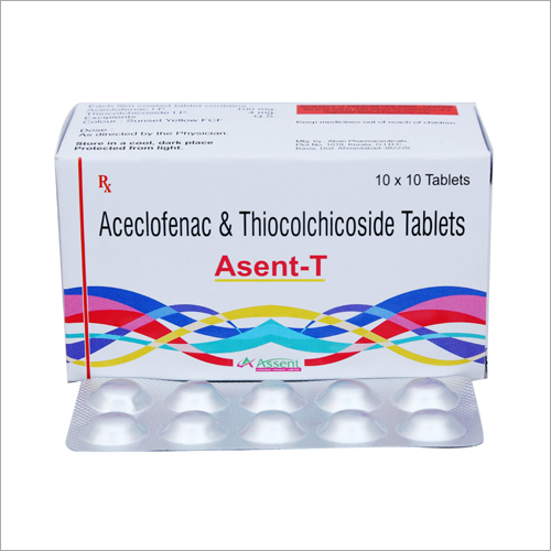 Aceclofenac And Thiocolchicoside Tablets