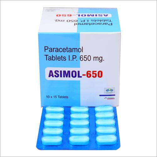 650 mg Paracetamol Tablets