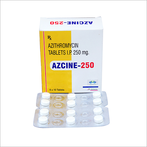 250 mg Azithromycin Tablets IP