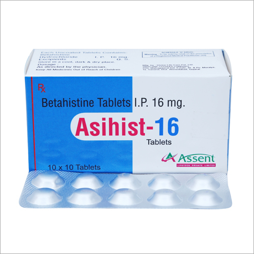 16 mg Betahistine Tablets