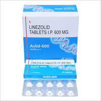 600 mg Linezolid Tablets IP