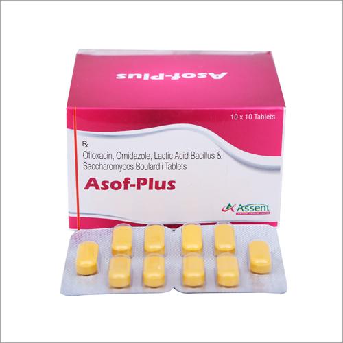 Ofloxacin Orindazole Lactic Acid Bacillus And Saccharomyces Boulardii Tablets