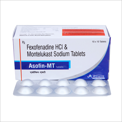 Fexofenadine HCI And Montelukast Sodium Tablets