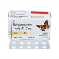 16 mg Methylprednisolone Tablets IP
