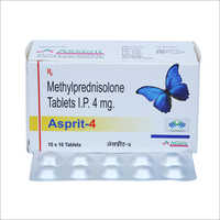 4 mg Methylprednisolone Tablets IP