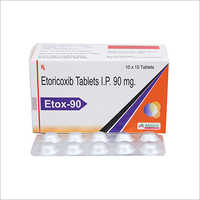 90 mg Etoricoxib Tablets IP