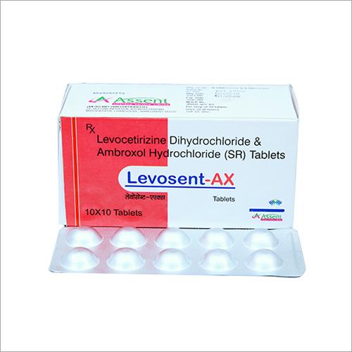Levocetirizine Dihydrochloride And Ambroxol Hydrochloride (SR) Tablets