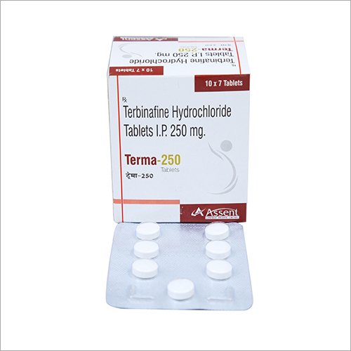 250 mg Terbinafine Hydrochloride Tablets I.P