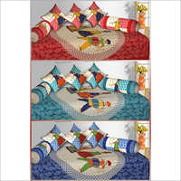 Jaipuri Diwan Bed Sheets Sets