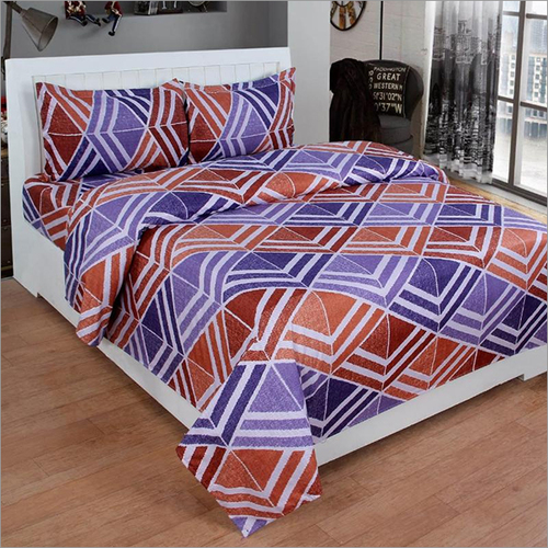 Poly Cotton Printed Bed Sheets