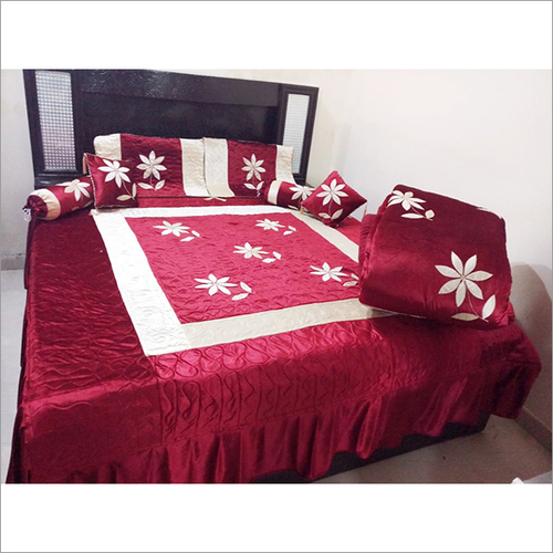 Centre Embroidery Wedding Bedding Set