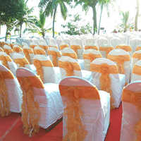 Mandap Flower Panel And Chair Bow
