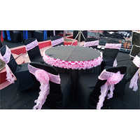 Mandap Round Table Cover
