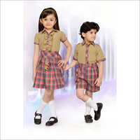 Kids School Check Uniform
