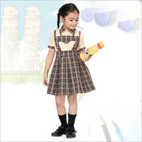 Girls Dungaree School Uniform