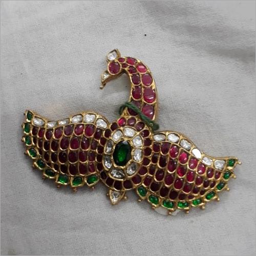 Ladies Designer Gold Kundan Pendant