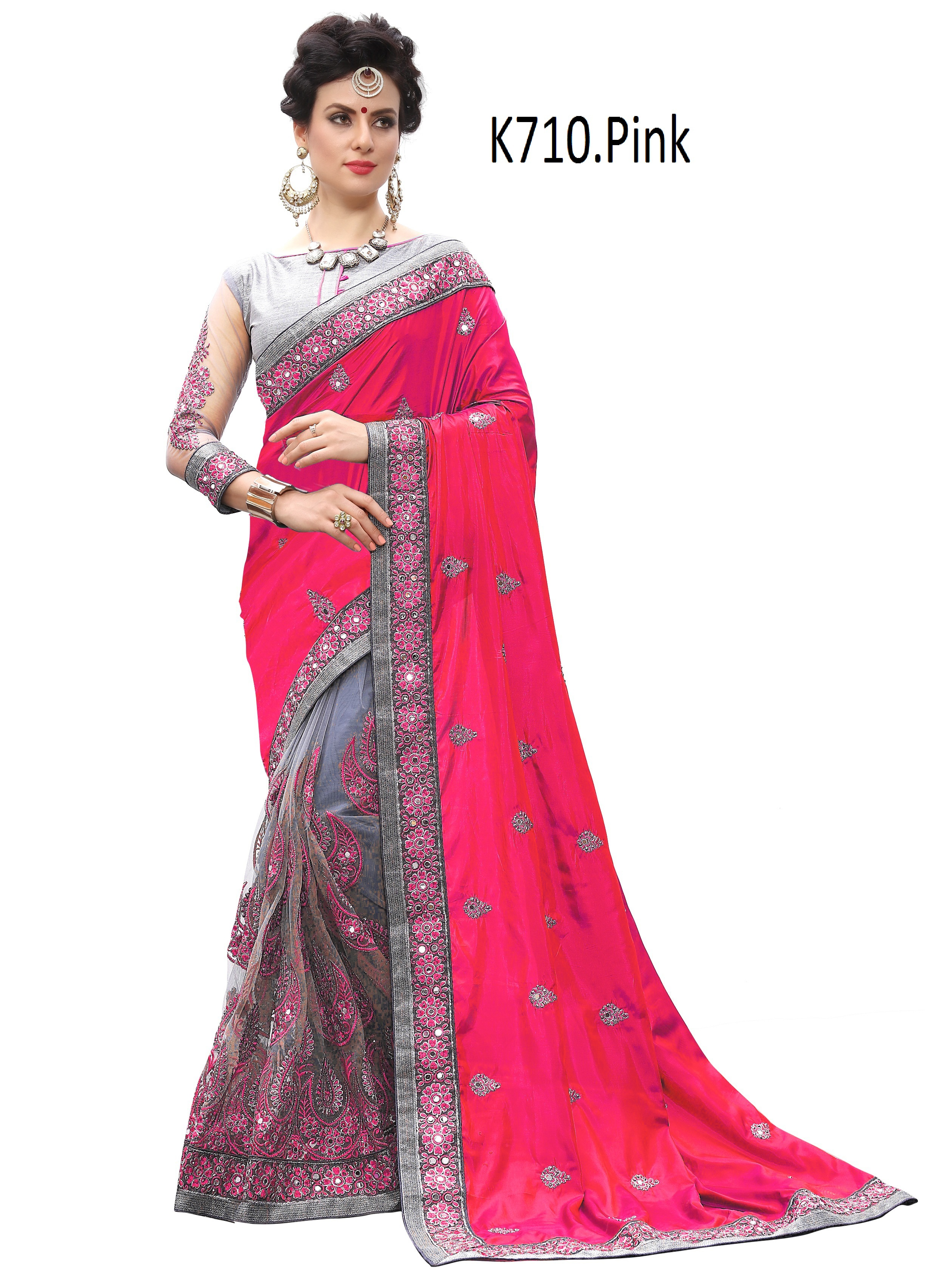 Designer Embroidered  saree collection