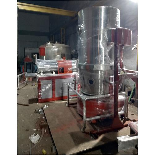 Fluid Bed Dryer On Manufacturing Floor