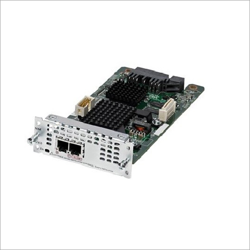 Cisco 2 Port-Interface-Baustein des Netz-T1-E1