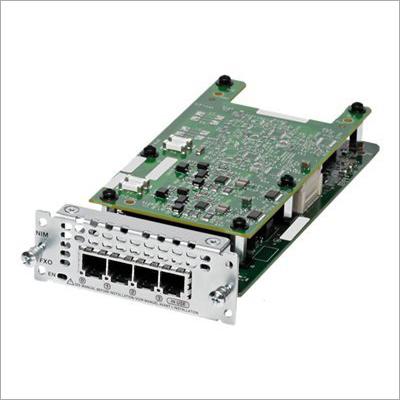 Cisco 4 Port Analog Voice Network Interface Modules