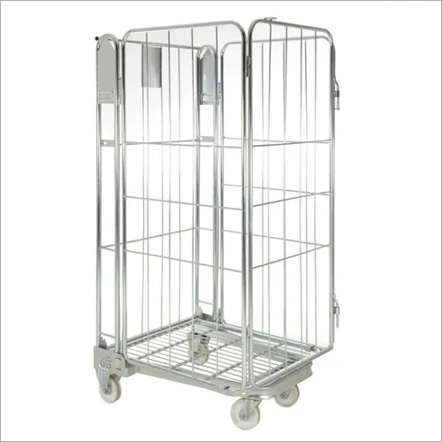 Nestable Roll Cage Trolley