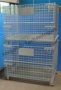 Wire Mesh Foldable Cage Container