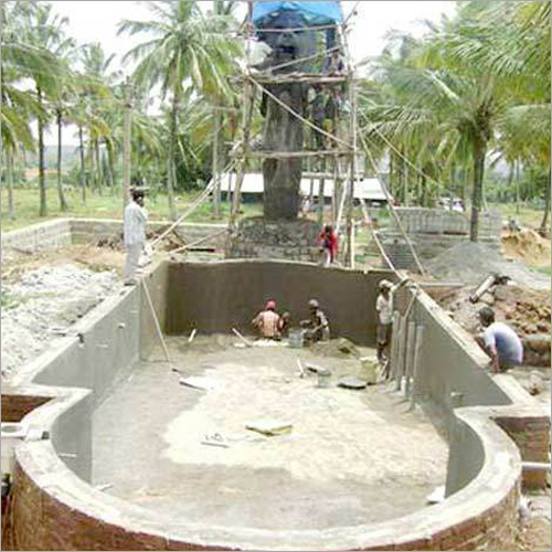 Resort Swimming Pool Construction Service